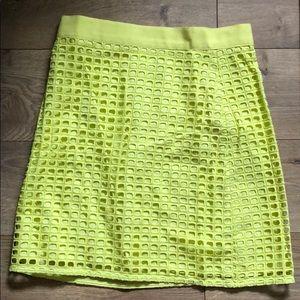 Neon Loft skirt- high waisted